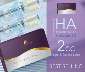 Acquaderm Hyaluronic acid Juvederm Restylane
