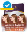 Premium Generic Kybella - NEW REDUCEL® Deoxycholic Acid 2TH GEN INJECTABLE Fat Dissolving Lipodissolve Injections – Compare to Aqualyx / Kybella. 1 x 8cc vial (Four treatments)